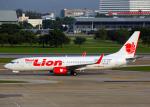 Bokuranさんが、ドンムアン空港で撮影したタイ・ライオン・エア 737-8GPの航空フォト(写真)