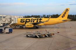 ★azusa★さんが、オーランド国際空港で撮影したスピリット航空 A320-232の航空フォト(飛行機 写真・画像)