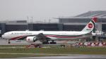 誘喜さんが、ロンドン・ヒースロー空港で撮影したビーマン・バングラデシュ航空 777-3E9/ERの航空フォト(写真)