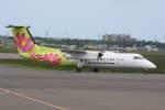 プルシアンブルーさんが、札幌飛行場で撮影したエアーニッポンネットワーク DHC-8-314Q Dash 8の航空フォト(写真)