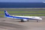 けいとパパさんが、羽田空港で撮影した全日空 A321-211の航空フォト(写真)