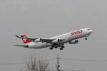 Tango Alphaさんが、成田国際空港で撮影したスイスインターナショナルエアラインズ A340-313Xの航空フォト(写真)