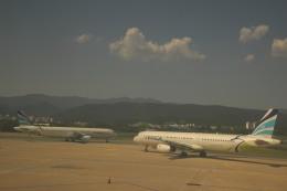 さもんほうさくさんが、大邱国際空港で撮影したエアプサン A321-231の航空フォト(飛行機 写真・画像)