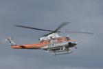 蒼い鳩さんが、福井空港で撮影した和歌山県防災航空隊 412EPの航空フォト(写真)