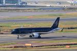 funi9280さんが、羽田空港で撮影したスターフライヤー A320-214の航空フォト(飛行機 写真・画像)