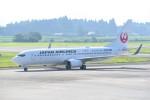 kumagorouさんが、鹿児島空港で撮影した日本航空 737-846の航空フォト(写真)