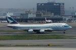 485k60さんが、羽田空港で撮影したキャセイパシフィック航空 747-467の航空フォト(写真)