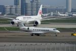 485k60さんが、羽田空港で撮影した不明 G-V Gulfstream Vの航空フォト(写真)