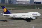485k60さんが、羽田空港で撮影したルフトハンザドイツ航空 747-430の航空フォト(写真)