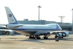 485k60さんが、羽田空港で撮影したアメリカ空軍 VC-25A (747-2G4B)の航空フォト(飛行機 写真・画像)