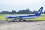 kumagorouさんが、鹿児島空港で撮影した全日空 767-381の航空フォト(写真)