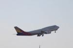 ジャンクさんが、成田国際空港で撮影したアシアナ航空 747-48Eの航空フォト(写真)