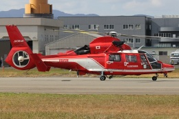 MOR1(新アカウント)さんが、福井空港で撮影した名古屋市消防航空隊 AS365N3 Dauphin 2の航空フォト(飛行機 写真・画像)