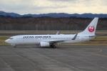 Izumixさんが、釧路空港で撮影した日本航空 737-846の航空フォト(写真)