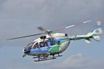 蒼い鳩さんが、福井空港で撮影した福井県防災航空隊 BK117C-2の航空フォト(写真)