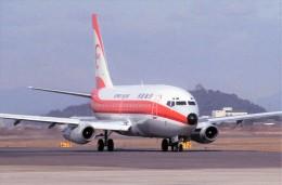 ハミングバードさんが、名古屋飛行場で撮影した南西航空 737-2Q3/Advの航空フォト(飛行機 写真・画像)