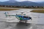 千葉県大隊さんが、福井空港で撮影した福井県防災航空隊 BK117C-2の航空フォト(写真)