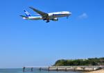 mojioさんが、那覇空港で撮影した全日空 777-281/ERの航空フォト(写真)