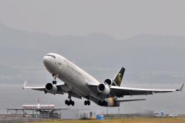 NALUさんが、関西国際空港で撮影したUPS航空 MD-11Fの航空フォト(飛行機 写真・画像)