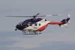 キイロイトリさんが、名古屋飛行場で撮影した岐阜県防災航空隊 BK117C-2の航空フォト(写真)
