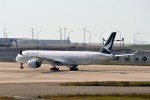 T.Sazenさんが、関西国際空港で撮影したキャセイパシフィック航空 A350-1041の航空フォト(飛行機 写真・画像)