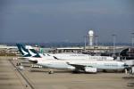 JA946さんが、関西国際空港で撮影したキャセイパシフィック航空 A330-343Xの航空フォト(写真)