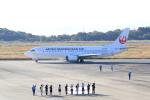 516105さんが、岡山空港で撮影した日本トランスオーシャン航空 737-446の航空フォト(写真)