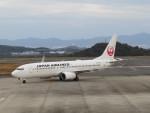 sp3混成軌道さんが、岡山空港で撮影した日本航空 737-846の航空フォト(写真)