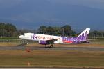 non-nonさんが、鹿児島空港で撮影した香港エクスプレス A320-232の航空フォト(写真)