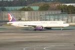 turenoアカクロさんが、成田国際空港で撮影したマカオ航空 A321-231の航空フォト(写真)