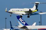 パンダさんが、成田国際空港で撮影したジェット・アビエーション・ビジネス・ジェット G650 (G-VI)の航空フォト(写真)
