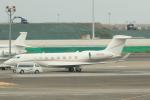 cassiopeiaさんが、羽田空港で撮影したユタ銀行 Gulfstream G650 (G-VI)の航空フォト(写真)