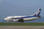 プルシアンブルーさんが、対馬空港で撮影したANAウイングス 737-5L9の航空フォト(写真)