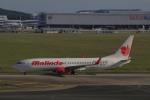 しかばねさんが、クアラルンプール国際空港で撮影したマリンド・エア 737-8GPの航空フォト(写真)