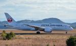 鉄バスさんが、広島空港で撮影した日本航空 787-8 Dreamlinerの航空フォト(飛行機 写真・画像)