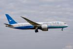 ぱん_くまさんが、成田国際空港で撮影した厦門航空 787-8 Dreamlinerの航空フォト(写真)