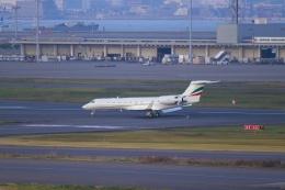 とらとらさんが、羽田空港で撮影したツインジェット G500/G550 (G-V)の航空フォト(飛行機 写真・画像)