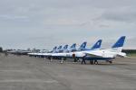 ワイエスさんが、千歳基地で撮影した航空自衛隊 T-4の航空フォト(写真)