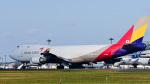パンダさんが、成田国際空港で撮影したアシアナ航空 747-48EF/SCDの航空フォト(写真)