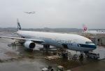 Harry Lennonさんが、成田国際空港で撮影したキャセイパシフィック航空 777-367の航空フォト(写真)
