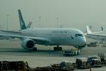 Harry Lennonさんが、香港国際空港で撮影したキャセイパシフィック航空 A350-941XWBの航空フォト(写真)