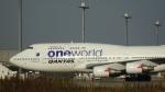JUNさんが、羽田空港で撮影したカンタス航空 747-438/ERの航空フォト(写真)