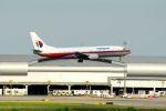 まいけるさんが、スワンナプーム国際空港で撮影したマレーシア航空 737-4H6の航空フォト(写真)