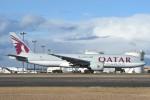 B747‐400さんが、新千歳空港で撮影したカタール航空カーゴ 777-FDZの航空フォト(写真)