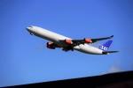 レドームさんが、成田国際空港で撮影したスカンジナビア航空 A340-313Xの航空フォト(写真)
