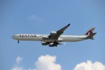 mktさんが、スワンナプーム国際空港で撮影したカタール航空 A340-642Xの航空フォト(写真)