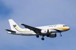 mktさんが、スワンナプーム国際空港で撮影したミャンマー国際航空 A319-111の航空フォト(写真)