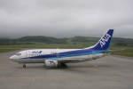 プルシアンブルーさんが、紋別空港で撮影した全日空 737-54Kの航空フォト(写真)