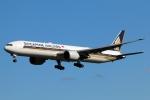 まえちんさんが、成田国際空港で撮影したシンガポール航空 777-312/ERの航空フォト(写真)
