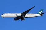 まえちんさんが、成田国際空港で撮影したキャセイパシフィック航空 A350-941XWBの航空フォト(写真)